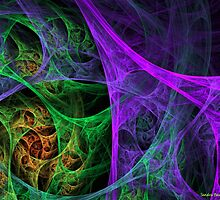 Oh, What a Tangled Web.... by Sandra Bauser Digital Art