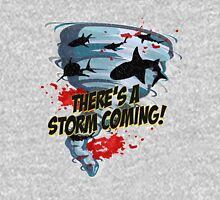 Shark Tornado - Shark Cult Movie - Shark Attack - Shark Tornado Horror Movie Parody - Storm's Coming! Unisex T-Shirt