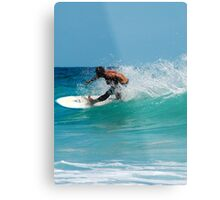 SURFER RULES  Metal Print
