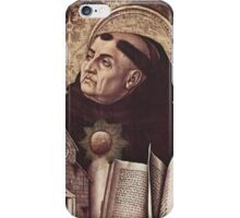 Thomas Aquinas iPhone Case/Skin