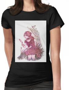 The Flower  Womens Fitted T-Shirt