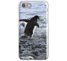 Adelie Penguins Antarctica 2B iPhone Case/Skin