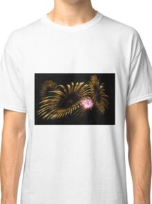 Abstract Fireworks Classic T-Shirt