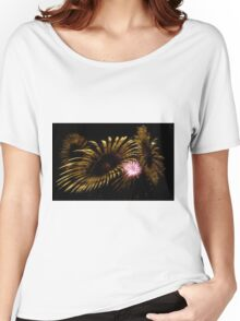 Abstract Fireworks Women's Relaxed Fit T-Shirt