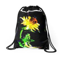 The Caring Love Of A Bee Drawstring Bag