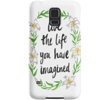 Imaginative Lily Samsung Galaxy Case/Skin