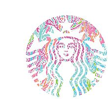 Starbucks Under Colorful Sea by Seaweed4