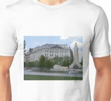 Inter Europe Bank, Soviet Red Army Memorial, Budapest, Hungary Unisex T-Shirt