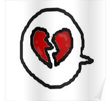 heart bubble Poster