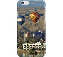 Balloons Over Lake Havasu iPhone Case/Skin