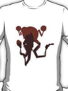 FALLOUT 4 - Codsworth Vintage Silhouette Design T-Shirt