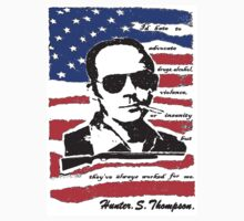 Hunter .S. Thompson. Kids Clothes