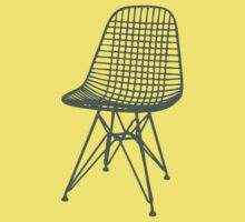 Eames Wire Chair Kids Tee