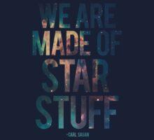 We Are Made of Star Stuff - Carl Sagan Quote Kids Tee