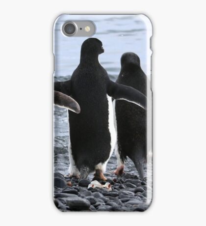 ADELIE PENGUINS ANTARCTICA 4 iPhone Case/Skin