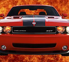 Flamin' Hot Challenger by Greg Lester
