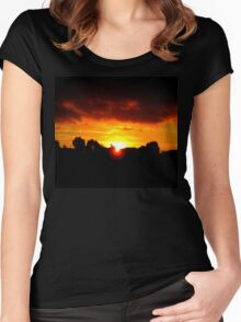 Beneath The Clouds Women's Fitted Scoop T-Shirt