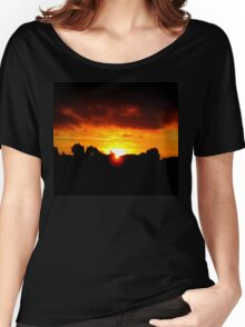 Beneath The Clouds Women's Relaxed Fit T-Shirt