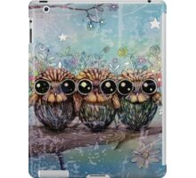 three little night owls iPad Case/Skin