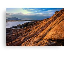 Wide Rock Flow-Second Look Canvas Print