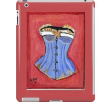 Baby Blue Bustier' iPad Case/Skin