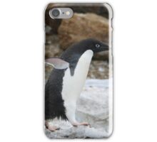 Adelie Penguin in Brown Bluff, Antarctica 6 iPhone Case/Skin