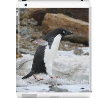 Adelie Penguin in Brown Bluff, Antarctica 6 iPad Case/Skin
