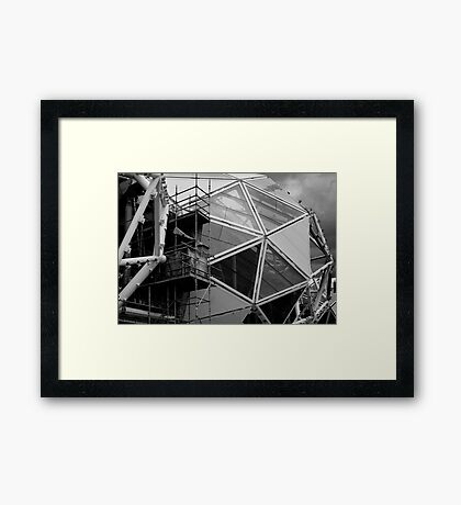 Stadium #2 Framed Print