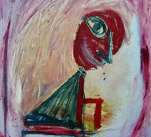 me and my red chair by Shylie Edwards