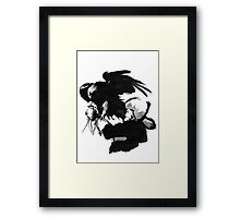 Mongolian Hunter Framed Print