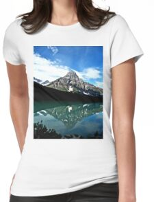 Mountain Reflections Womens Fitted T-Shirt