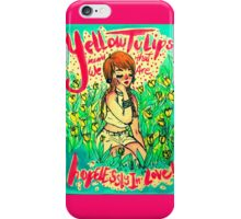 Yellow Tulips. By Ane Teruel. iPhone Case/Skin