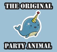 Original Party Animal by narwhalwall
