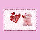 Valentine Teddy by Ann12art