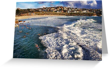 Bronte Ocean Baths by Ian English