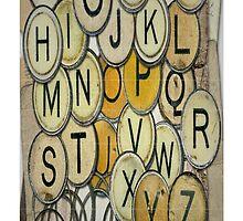 Vintage Typewriter Key by CantikaCase