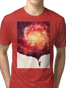 The universe in a soap-bubble! Tri-blend T-Shirt