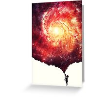 The universe in a soap-bubble! Greeting Card