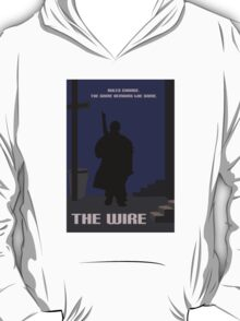 The Wire minimalist work T-Shirt