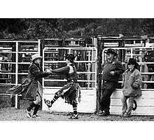 Broncos and Bulls # 1 Photographic Print