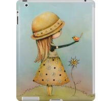 summer days are golden iPad Case/Skin