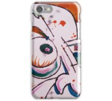The Glare - Hand Painted Monoprint iPhone Case/Skin