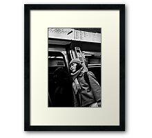 Anonymity Framed Print
