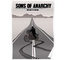 Sons of Anarchy Minimalist work Poster