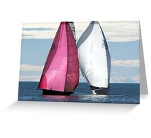 Two Of Us Greeting Card