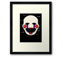 Five Nights at Freddy's Puppet - It's Me Framed Print