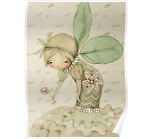 little leaf fairy Poster