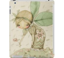 little leaf fairy iPad Case/Skin