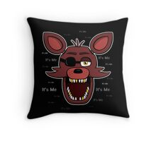 Five Nights at Freddy's - FNAF - Foxy - It's Me Throw Pillow