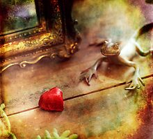 Love is where the heart is ! by Michel Raj